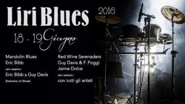 """""""LIRI BLUES FESTIVAL"""" –  Ventinovesima Edizione 18 e 19 Giugno 2016"""
