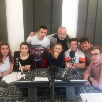 La prima diretta dei ragazzi DEL MARTINO FILETICO