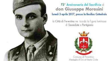 FERENTINO RICORDA   Don Giuseppe Morosini