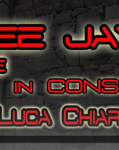 Podcast Video DJ Set – LUCA CHIARLITTI