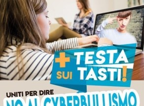 + TESTA SUI TASTI! – NO AL CYBERBULLISMO