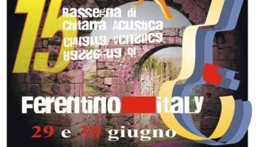 Rassegna Ferentino Acustica Festival 2017