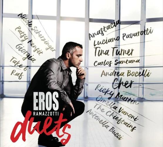 """Eros Ramazzotti: a novembre esce """"Eros duets"""""""