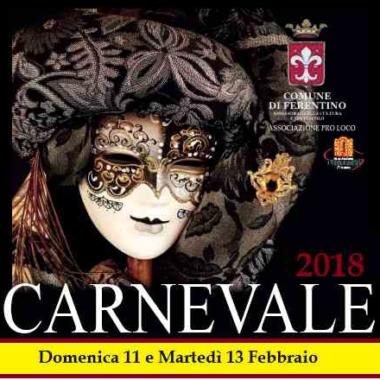 Carnevale 2018 – Una città tutta da vivere – Concorsi per tutte le età