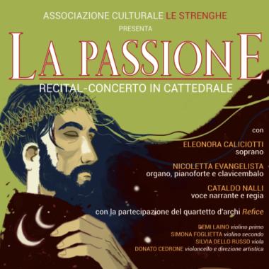"""Un recital-concerto in preparazione della Settimana Santa a Ferentino: """"La Passione"""""""
