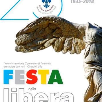 Ferentino 25 Aprile: Festa della Liberazione