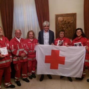 Settimana Mondiale della Croce Rossa: in Piazza Matteotti lo sventolio del drappo!