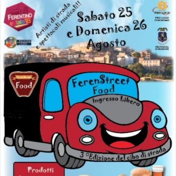 FERENSTREET FOOD: 3° Edizione…gusto e divertimento!