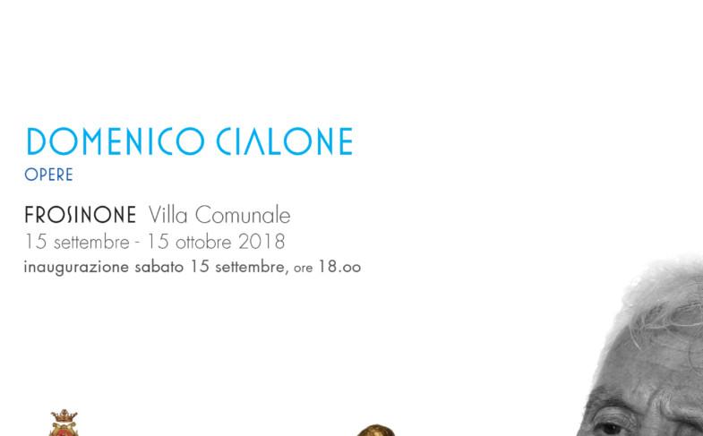 """""""UNA MATERIA IMMATERIALE"""" Domenico Cialone – Opere in mostra"""