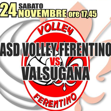 VOLLEY FERENTINO VS VALSUGANA ROMA