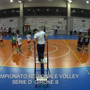 VIDEO DEL 3 SET TRA VOLLEY FERENTINO E POL. ROMA 7 VOLLEY