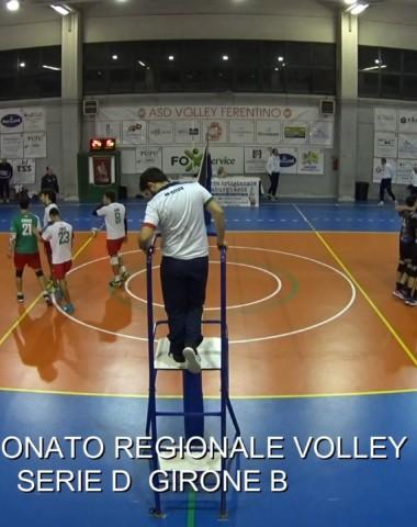 VIDEO DEL 3 SET TRA VOLLEY FERENTINO E POL. ROMA 7 VOLLEY
