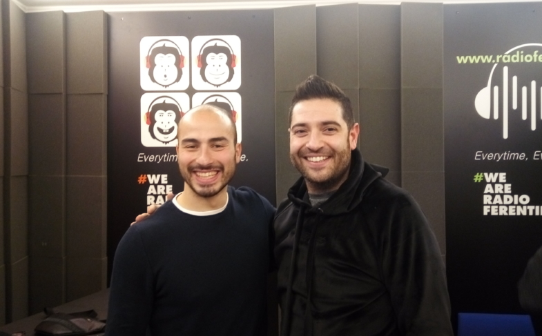 ALESSIO FOCONI OSPITE A RADIO FERENTINO