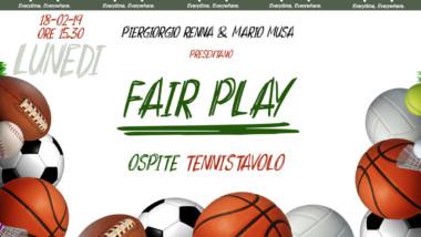 IL CIRCOLO TENNIS TAVOLO FERENTINO OSPITE A FAIR PLAY