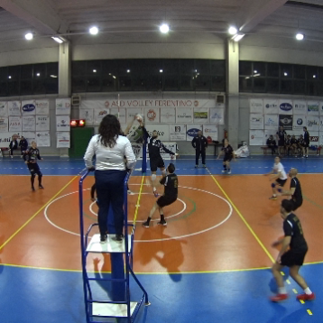 I VIDEO DELL'INCONTRO TRA IL VOLLEY FERENTINO E L'ALBALONGA