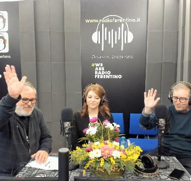 PAOLA LA MARRA OSPITE A RADIO FERENTINO