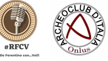 L'ARCHEOCLUB D'ITALIA SEDE LOCALE DI FERENTINO OSPITE A RADIO FERENTINO CON…VOI!!