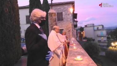 La Benedizione della Città di Ferentino con la Reliquia del Patrono Sant'Ambrogio Martire
