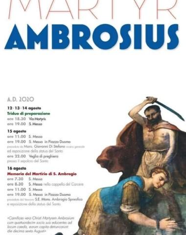 MARTYR AMBROSIUS – AGOSTO 2020