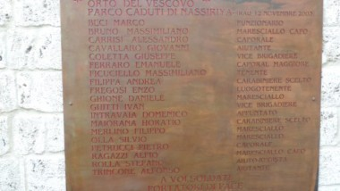 ATTENTATO DEL 12 NOVEMBRE 2003, STRAGE DI NASSIRIYA (IRAQ)