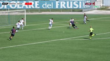 Coppa Italia Dilettanti 2020, 2° Tempo Ferentino vs Anagni