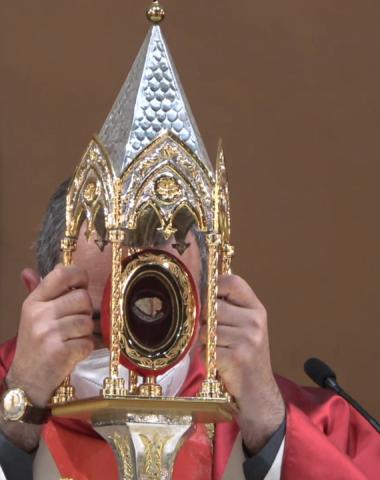 Sant'Ambrogio Martire 2021 – S. Messa delle ore 19:00 del 01-05-2021