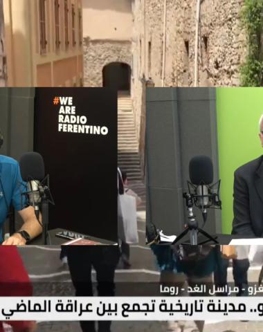 LA NOSTRA VOCE con A. Andrelli, ospite Antonio Ribezzo