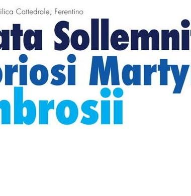 Agosto 2021- Festività di Sant'Ambrogio Martire