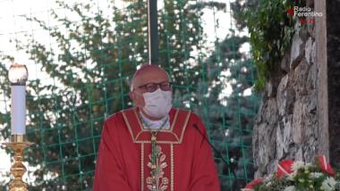 Agosto 2021 Festività di Sant'Ambrogio, Reposizione della Statua del Martire