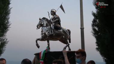 Agosto 2021 Festività di Sant'Ambrogio, Esposizione della Statua del Martire